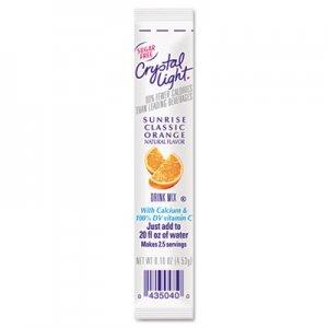 Crystal Light On the Go, Sunrise Orange, .16oz Packets, 30/Box CRY00504 GEN00504