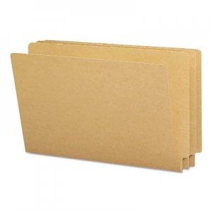 Smead Kraft End Tab Folders, Straight Cut, Legal, 50/Box SMD27400 27400