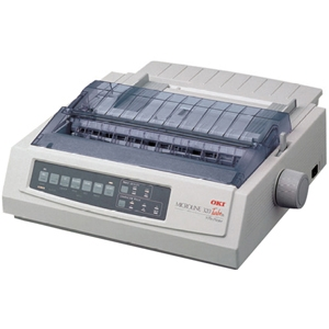 Oki MICROLINE Dot Matrix Printer 62411701 321 Turbo