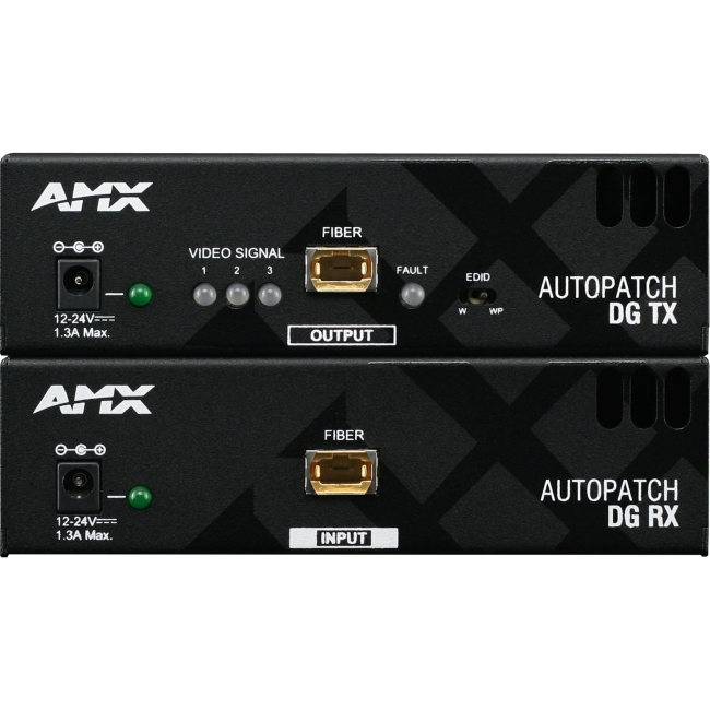 AMX Video Console FG1010-63-01 AVB-RX-FIBER-DVI