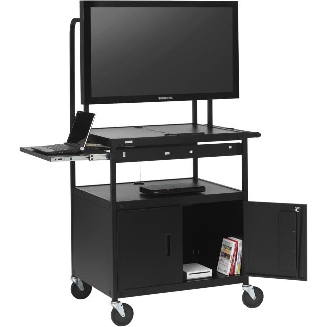 Bretford Basics Flat Panel Cart FP42MULC-P5BK
