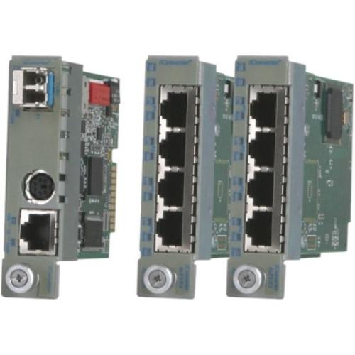 Omnitron iConverter T1/E1 Multiplexer 2422-0-32