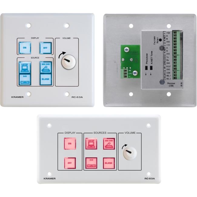 Kramer A/V Control Panel RC-63A