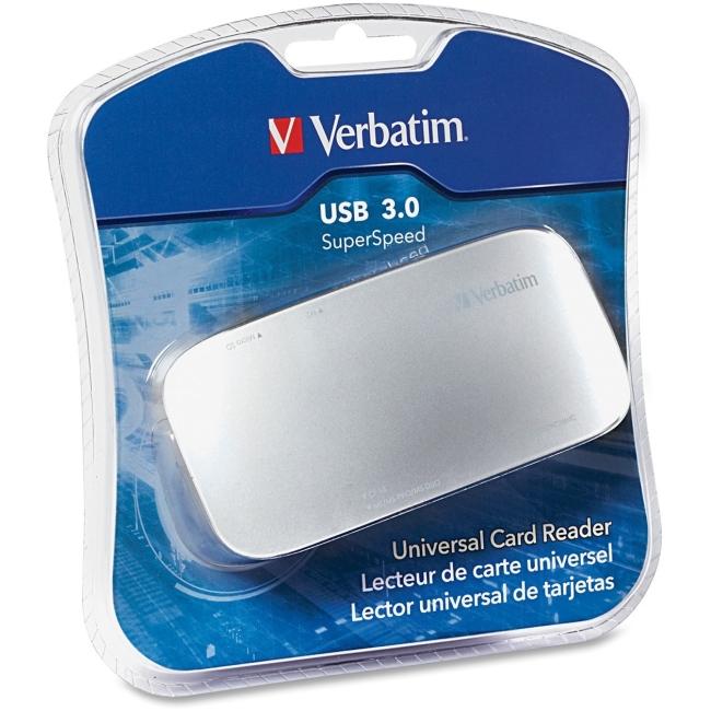 Verbatim USB 3.0 Flash Card Reader 97706