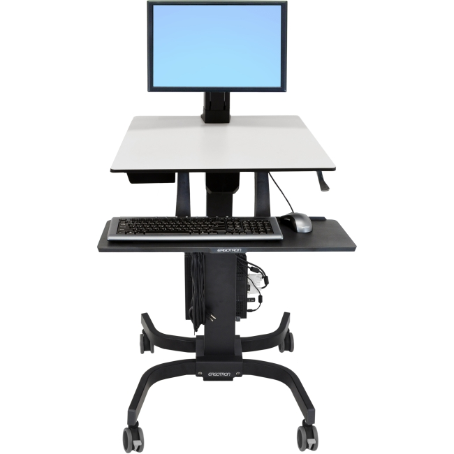 Ergotron WorkFit-C Single HD Sit Stand Workstation 24-216-085