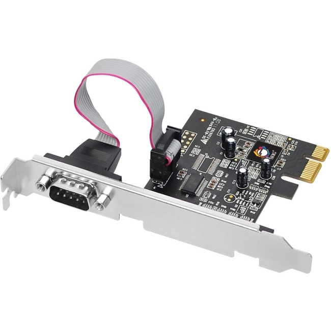 SIIG 1-port PCI Express Serial Adapter JJ-E01111-S1