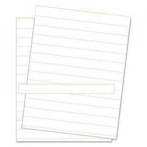 MasterVision Data Card Replacement Sheet, 8 1/2 x 11 Sheets, White, 10/PK BVCFM1615 FM1615