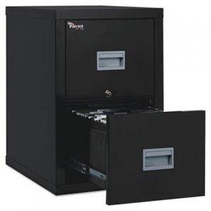 FireKing Patriot Insulated Two-Drawer Fire File, 17-3/4w x 25d x 27-3/4h, Black FIR2P1825CBL 2P1825-CBL