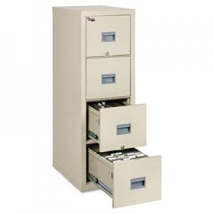FireKing Patriot Insulated Four-Drawer Fire File, 17-3/4w x 25d x 52-3/4h, Parchment FIR4P1825CPA 4P1825-CPA