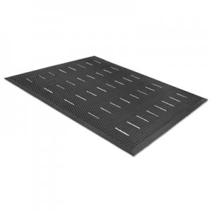 Guardian Free Flow Comfort Utility Floor Mat, 36 x 48, Black MLL34030401 34030401