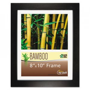 NuDell Bamboo Frame, 8 x 10, Black NUD14181 14181