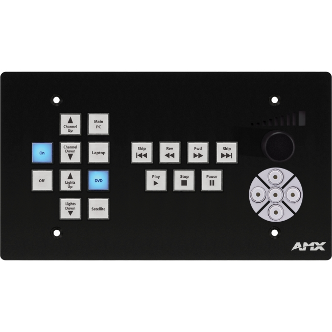 AMX CP-3017-TR-US A/V Control Panel FG1302-17-4-SB