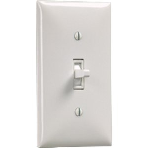 Draper Wall Switch SS-1R (White) 121102