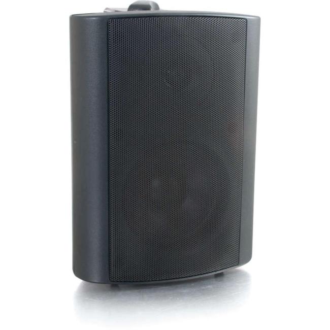 C2G 4in Wall Mount Speaker - Black (Each) 39906