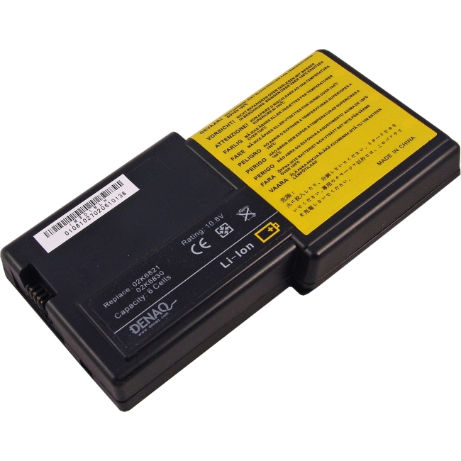 Denaq 6-Cell 58Whr Li-Ion Laptop Battery for IBM DQ-02K6821-6