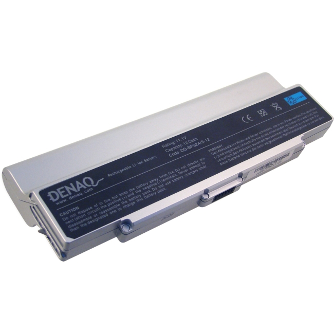 Denaq 12-Cell 8800mAh Li-Ion Laptop Battery for SONY DQ-BPS2/S-12