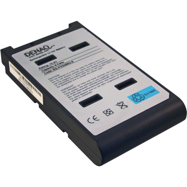 Denaq 6-Cell 5200mAh Li-Ion Laptop Battery for TOSHIBA DQ-PA3285U-6