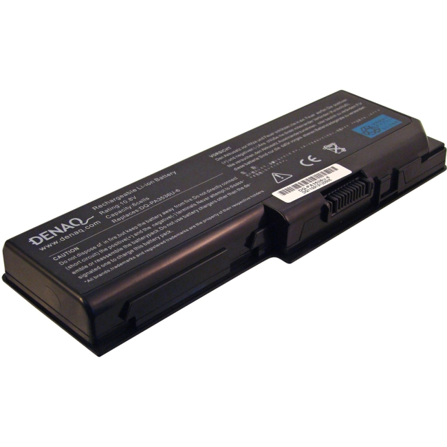 Denaq 6-Cell 5200mAh Li-Ion Laptop Battery for TOSHIBA DQ-PA3536U-6