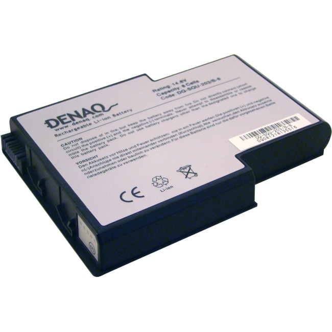 Denaq 8-Cell 4400mAh Li-Ion Laptop Battery for GATEWAY DQ-SQU-203/B-8