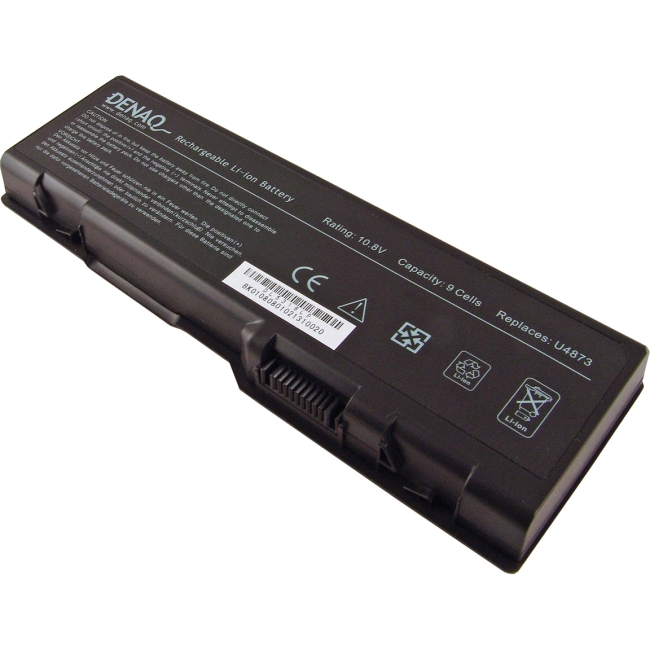 Denaq 9-Cell 7800mAh Li-Ion Laptop Battery for DELL DQ-U4873