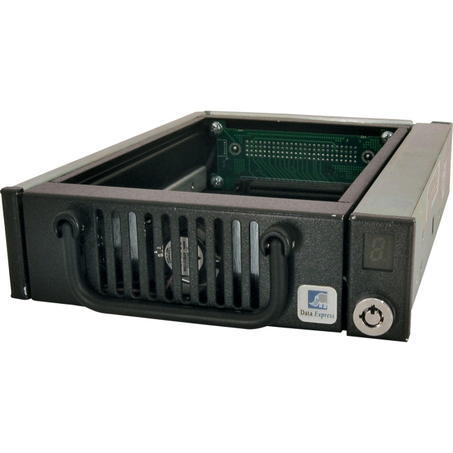 CRU Rugged & Reliable Removable Drive Enclosure 6506-0100-0500 DE100