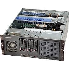 Supermicro 4U SC842 5x3.5inch Hotswap SAS/SATA with SES2 BPN-SAS-842TQ