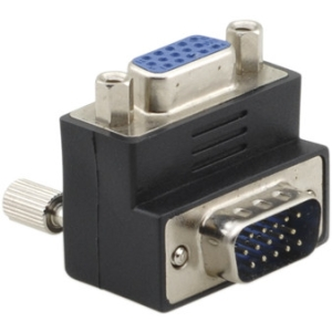 Kramer 15pin HD (M) to 15pin HD (F) RightAngle Adapter AD-GM/GF/RA