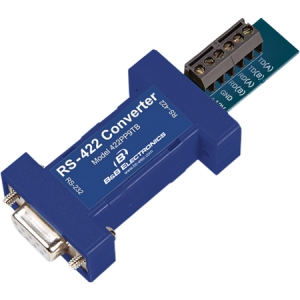 B+B Convert RS-232 to 422/485 with Port Power 422PP9TB