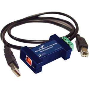 B+B USB to Serial Mini-Converters - For The Technician on The Go 485USBTB-2W