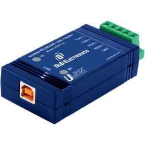 B+B USB To Isolated 422/485 W/Plug Term Block And Leds USOPTL4