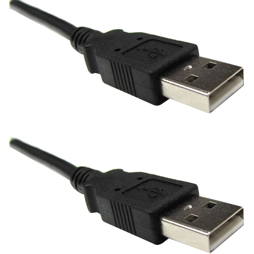 Weltron USB 2.0 A Male to A Male Cable 90-USB-AA-06