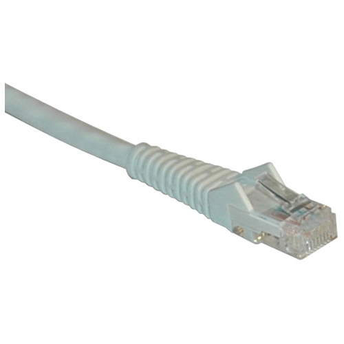 Tripp Lite 3-ft. Cat5e 350MHz Snagless Molded Cable (RJ45 M/M) - White N001-003-WH