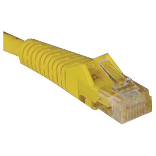 Tripp Lite 6-ft. Cat5e 350MHz Snagless Molded Cable (RJ45 M/M) - Yellow N001-006-YW
