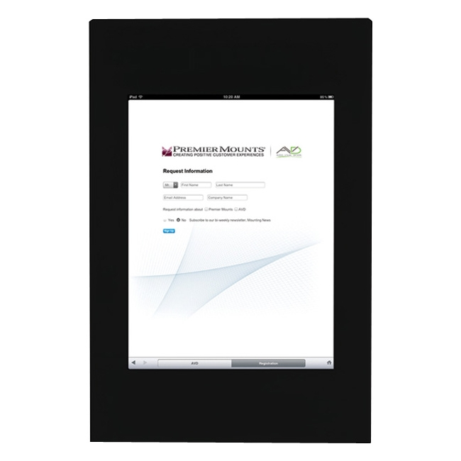 Premier Mounts Fully Enclosed Mounting Frame for iPad IPM-700