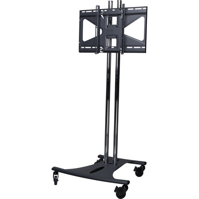 Premier Mounts Mobile Cart with 60 in. Dual Poles and Tilting Mount EBC60-MS2