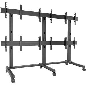 Chief FUSION 3 x 2 Micro-Adjustable Large Freestanding Video Wall LVM3X2U