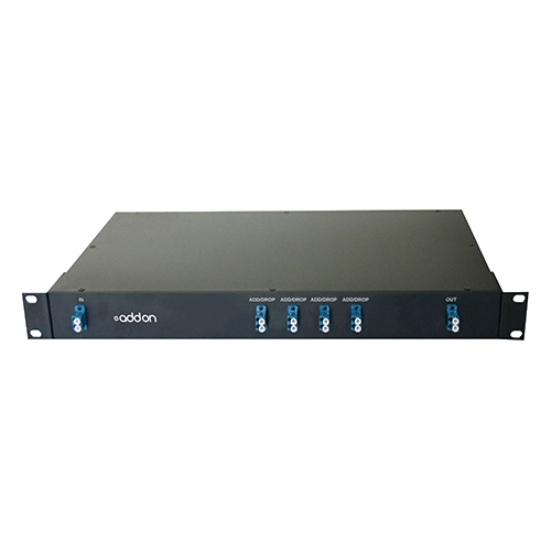 AddOn 4 Channel DWDM Optical Add/Drop MUX (OADM) ADD-OADM-4DWDM