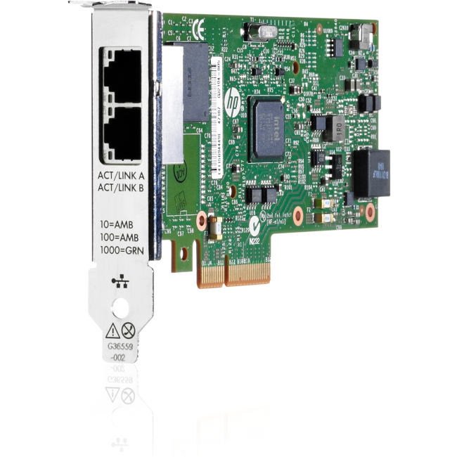 HP Ethernet 1Gb 2-port 361T Adapter 652497-B21