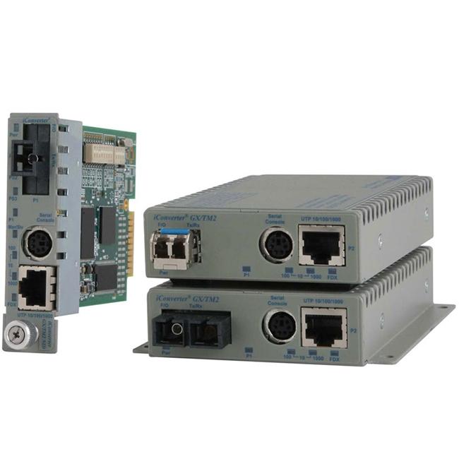 Omnitron iConverter Media Converter 8920N-0 GX/TM2