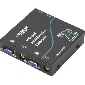 Black Box Wizard Multimedia Transmitter, Single Video/Stereo Audio AVU5001A