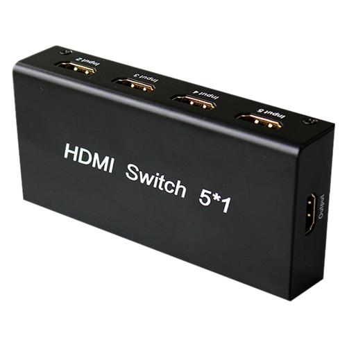 4XEM 5 Port HDMI Switch 4XHDMISW5X1