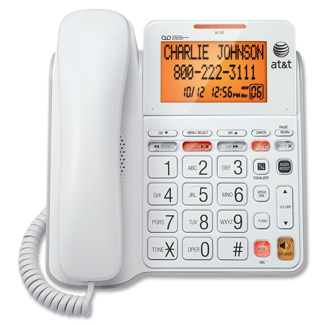 AT&T Standard Phone with Answering Machine CL4940