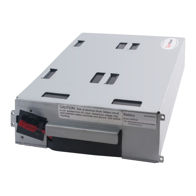 CyberPower UPS Replacement Battery Cartridge RB1270X4A