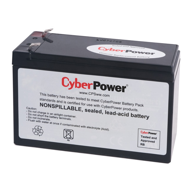 CyberPower UPS Replacement Battery Cartridge RB1280