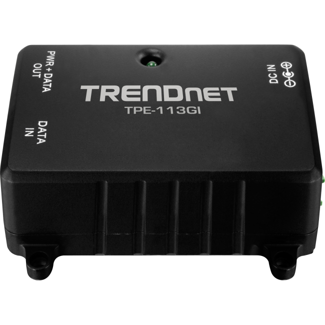 TRENDnet Gigabit Power over Ethernet (PoE) Injector TPE-113GI
