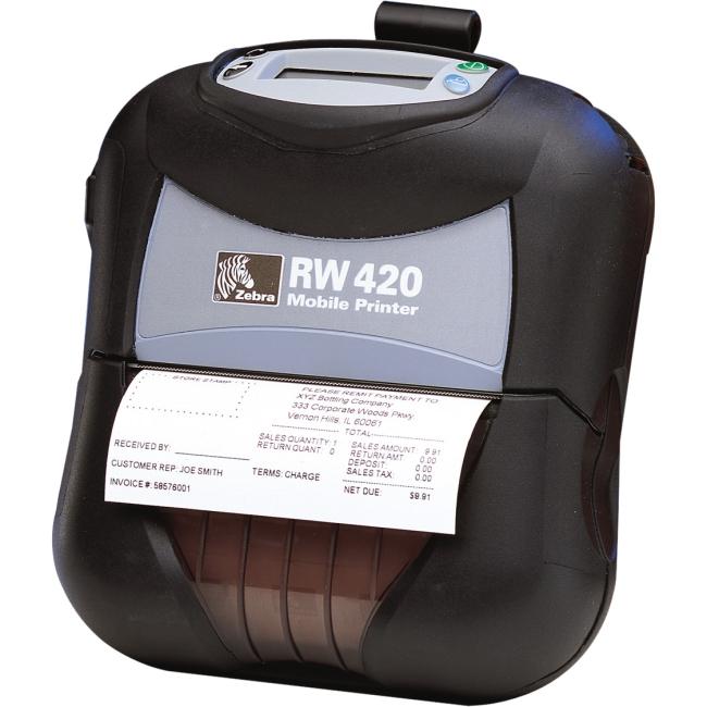 Zebra Mobile Printer R4D-0UBA000N-09 RW420