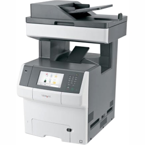Lexmark Color Laser MFP Government Compliant CAC Enabled 34TT024 X748DE