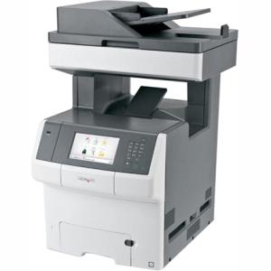 Lexmark Color Laser MFP Government Compliant CAC Enabled 34TT024 X748DE