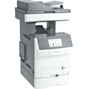 Lexmark Color Laser MFP Government Compliant CAC Enabled 34TT025 X748DTE