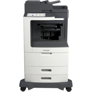 Lexmark Multifunction Laser Printer with Offset Stacker 24T7407 MX810DE